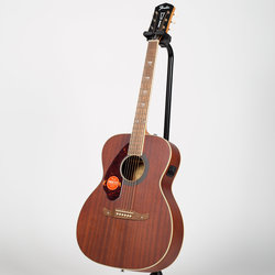 Fender Tim Armstrong Hellcat Acoustic-Electric Guitar - Walnut, Natural, Left