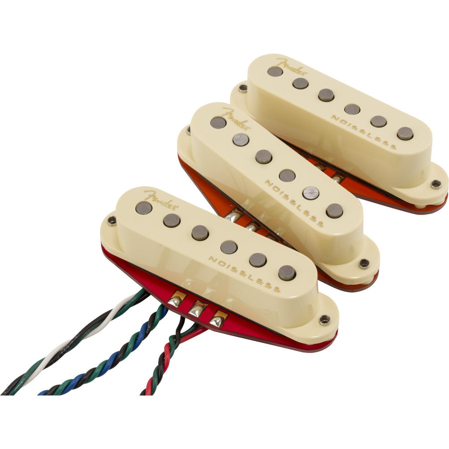 View larger image of Fender Ultra Noiseless Hot Stratocaster Pickup Set
