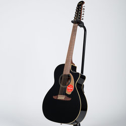 Fender Villager 12-String Acoustic-Electric Guitar - Walnut, Black