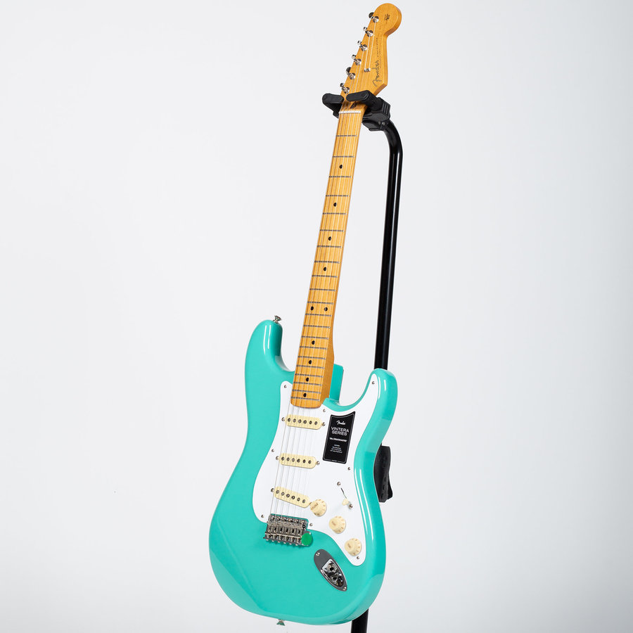 View larger image of Fender Vintera 50s Stratocaster - Maple, Sea Foam Green