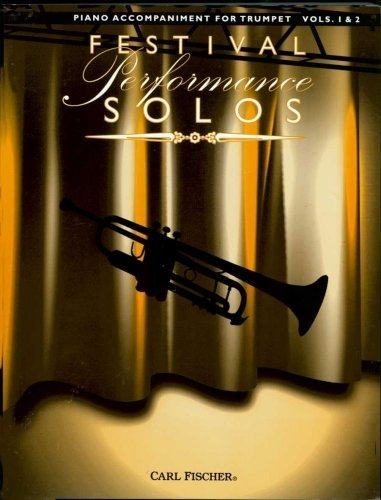 View larger image of Festival Performance Solos Vol.1 & 2 - Trumpet Piano Accompaniment
