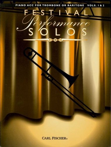 View larger image of Festival Performance Solos Volume 1&2 - Trombone / Piano Accompaniment
