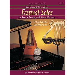 Standard of Excellence Festival Solos Book 1 - Piano Accompaniment