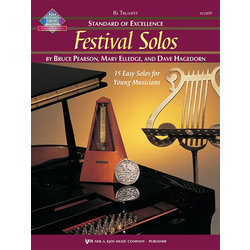 Standard of Excellence Festival Solos Book 1 - Trumpet