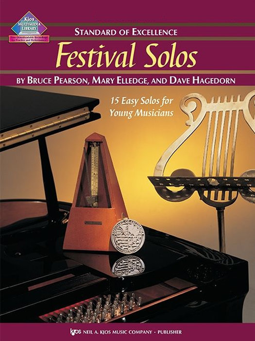 View larger image of Standard of Excellence Festival Solos Book 1 - Tuba