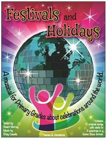 View larger image of Festivals & Holidays w/CD (Musical Revue)