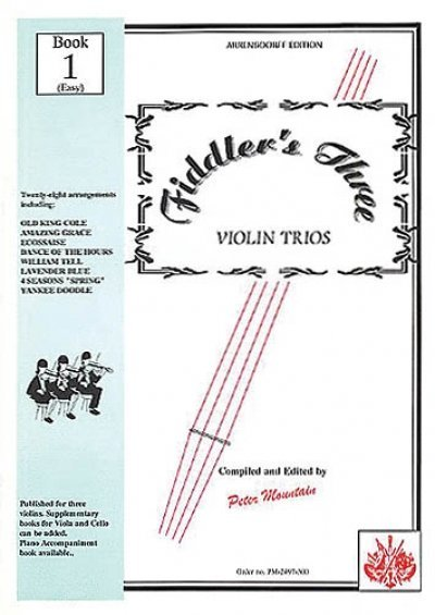 View larger image of Fiddler's Three - Violin Book 1