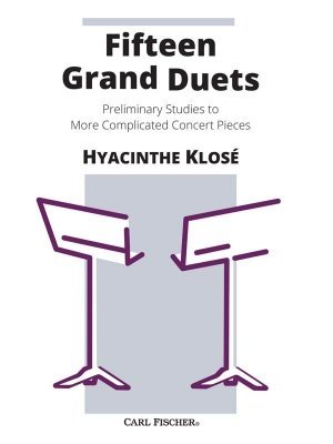 View larger image of Fifteen Grand Duets (Clarinet Duet)