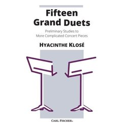 Fifteen Grand Duets (Clarinet Duet)