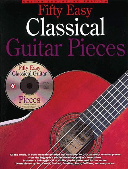 View larger image of Fifty Easy Classical Guitar Pieces w/CD
