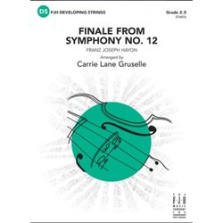 Finale from Symphony No. 12 - Score & Parts, Grade 2.5