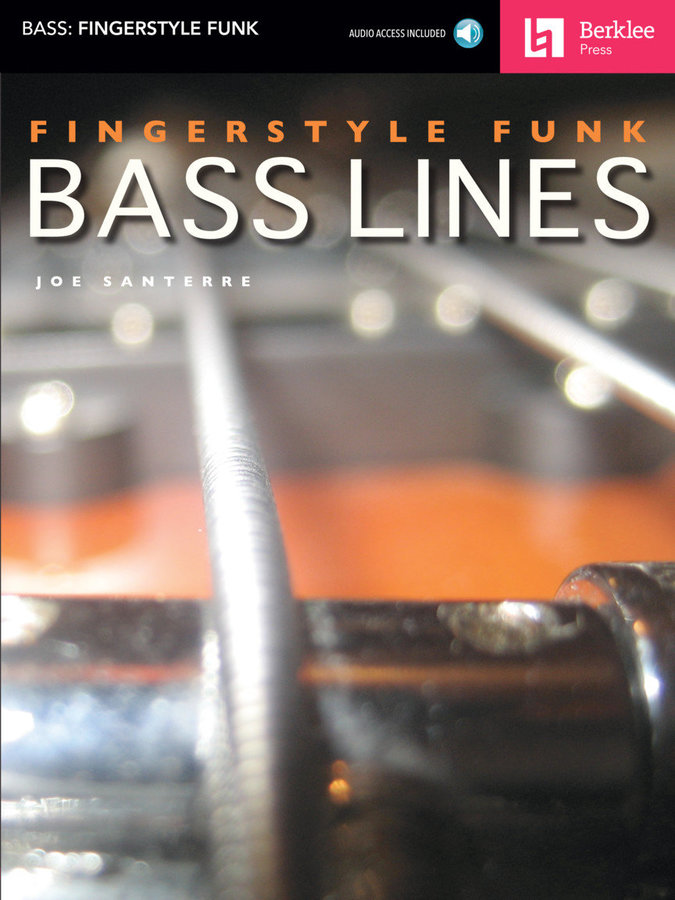 View larger image of Fingerstyle Funk Bass Lines w/Online Audio