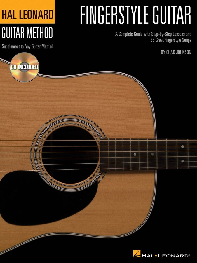 View larger image of Fingerstyle Guitar Method (Book & CD)