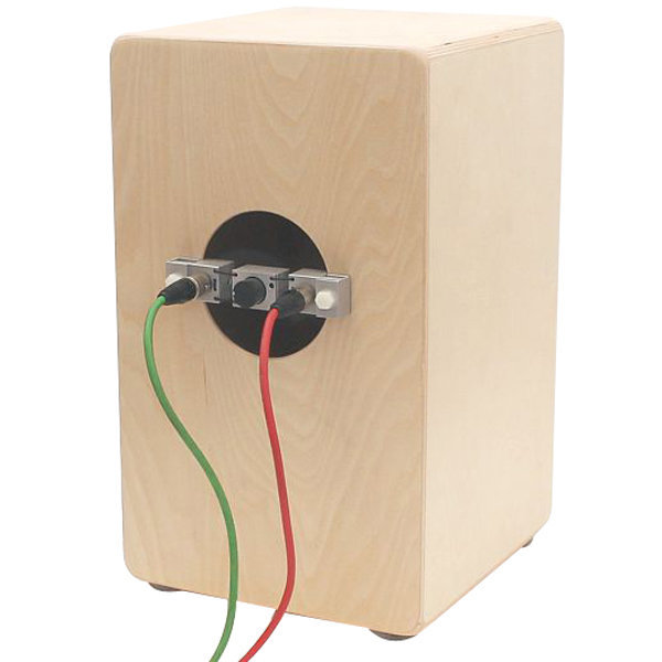 View larger image of Finhol CA-02 Cajomic Two-in-One Dual Cajon Microphone