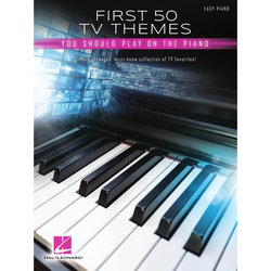 First 50 TV Themes You Should Play on Piano