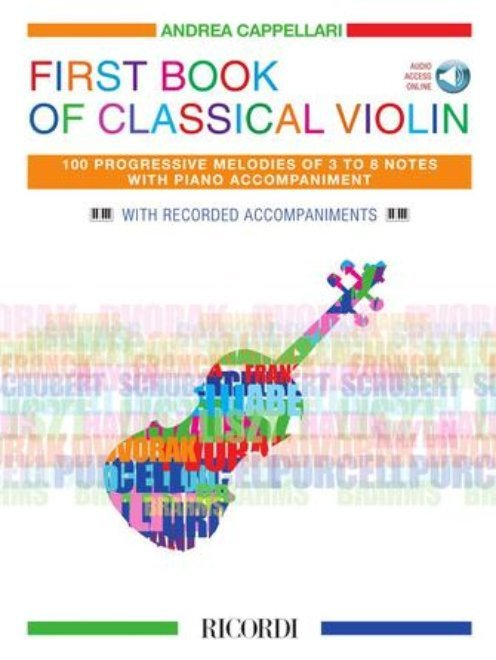 View larger image of First Book of Classical Violin w/Online Audio