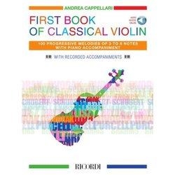First Book of Classical Violin w/Online Audio