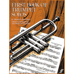 First Book Of Trumpet Solos - Trumpet & Piano
