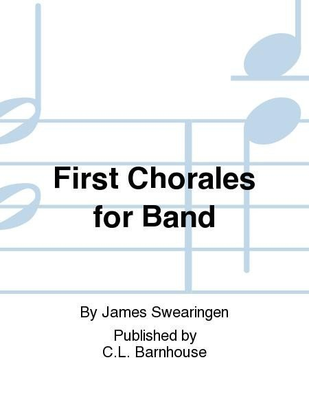 View larger image of First Chorales for Band - Oboe