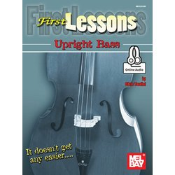 First Lessons - Upright Bass w/Online Audio