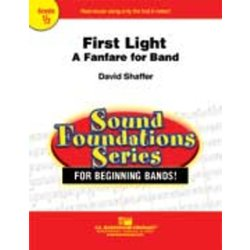 First Light (A Fanfare for Band) - Score & Parts, Grade 0.5