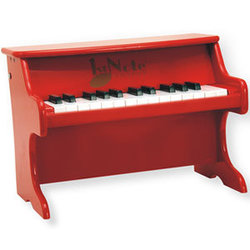 First Note Upright Piano - Red