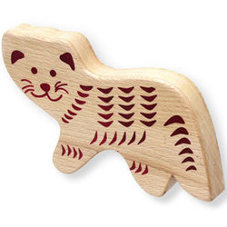 First Note Wooden Shaker - Cat