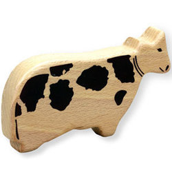 First Note Wooden Shaker - Cow