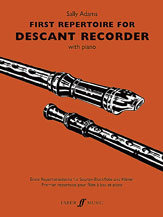 View larger image of First Repertoire for Descant Recorder
