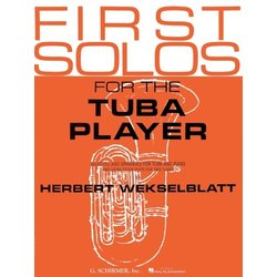 First Solos For The Tuba Player w/Piano