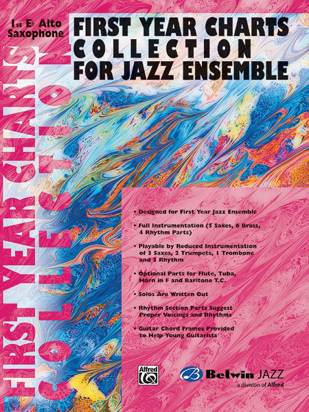 View larger image of First Year Charts Collection for Jazz Ensemble - Alto Sax 1