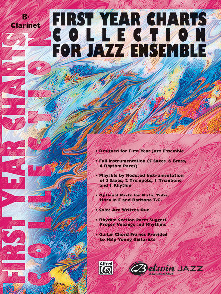 View larger image of First Year Charts Collection for Jazz Ensemble - Clarinet