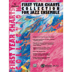First Year Charts Collection for Jazz Ensemble - Clarinet