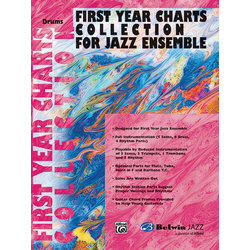 First Year Charts Collection for Jazz Ensemble - Drums