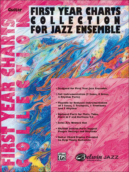 View larger image of First Year Charts Collection for Jazz Ensemble - Guitar