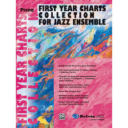 First Year Charts Collection for Jazz Ensemble - Piano