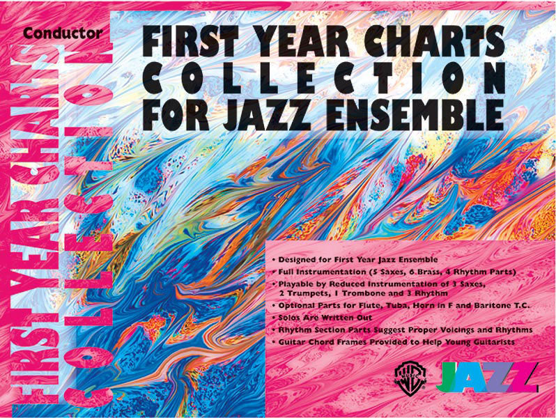 View larger image of First Year Charts Collection for Jazz Ensemble - Tenor Sax 1
