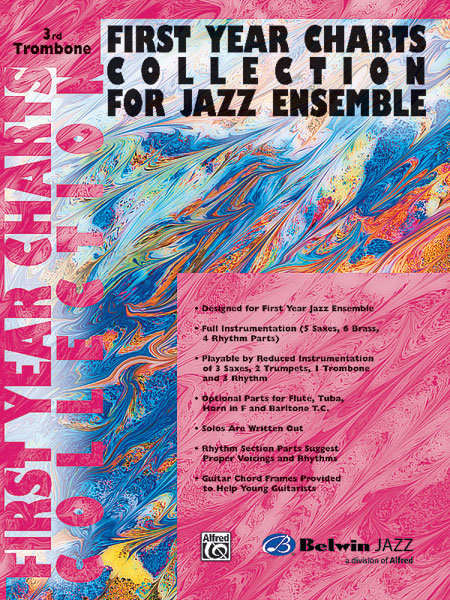 View larger image of First Year Charts Collection for Jazz Ensemble - Trombone 3