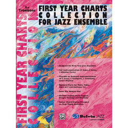 First Year Charts Collection for Jazz Ensemble - Trombone 3