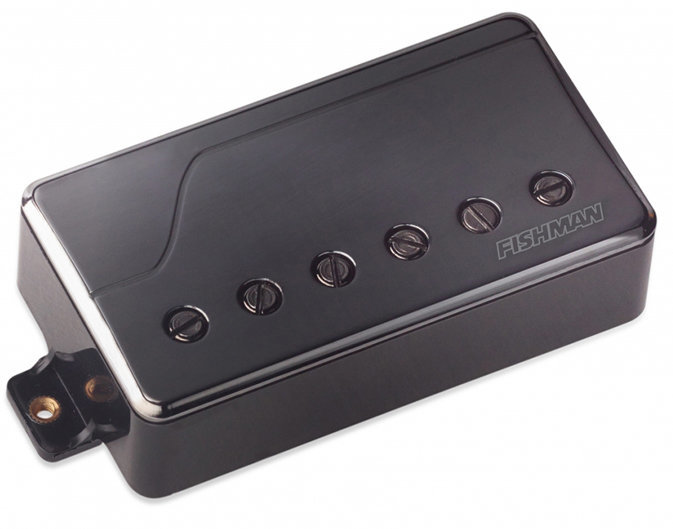 View larger image of Fishman Fluence Classic Humbucker Pickup - Bridge, 6-String, Black Nickel