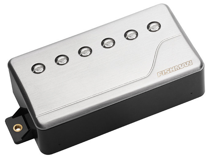 View larger image of Fishman Fluence Classic Humbucker Pickup - Neck, 6-String, Brushed Stainless