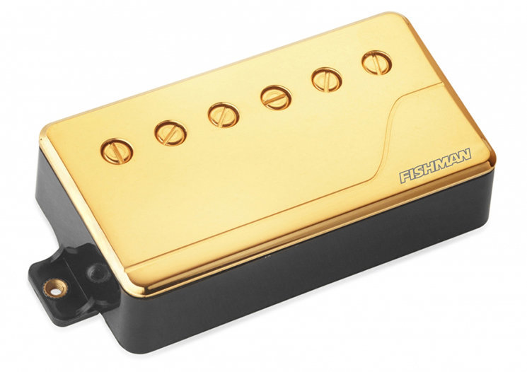 View larger image of Fishman Fluence Classic Humbucker Pickup - Neck, 6-String, Gold