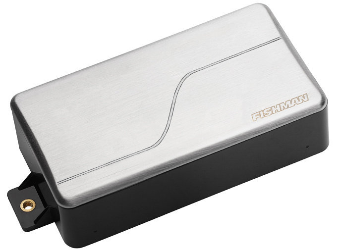 View larger image of Fishman Fluence Modern Alnico Humbucker Pickup - 6-String, Brushed Stainless