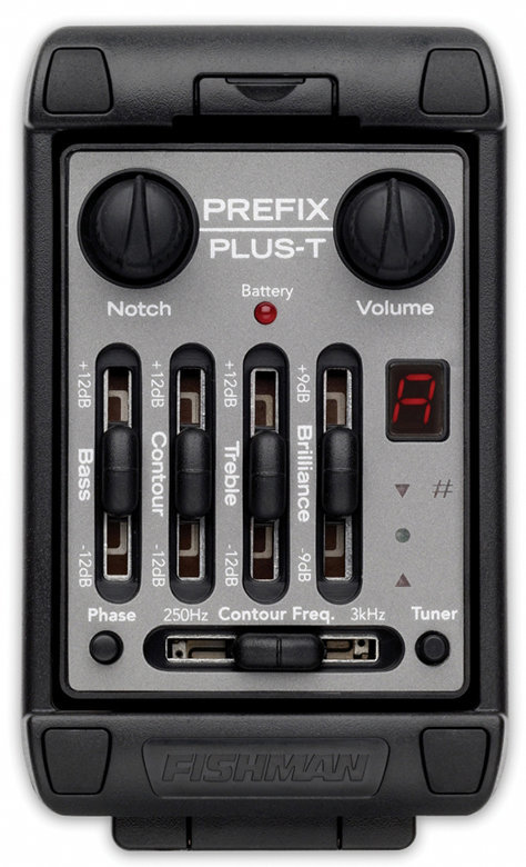 View larger image of Fishman Prefix Plus-T Onboard Preamp - Wide