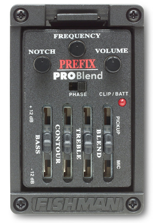View larger image of Fishman Prefix Pro Blend Onboard Preamp - Narrow