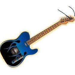 Flame Guitar Air Freshener - Sweet Emotion