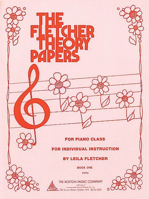View larger image of Fletcher Theory Papers, Book 1