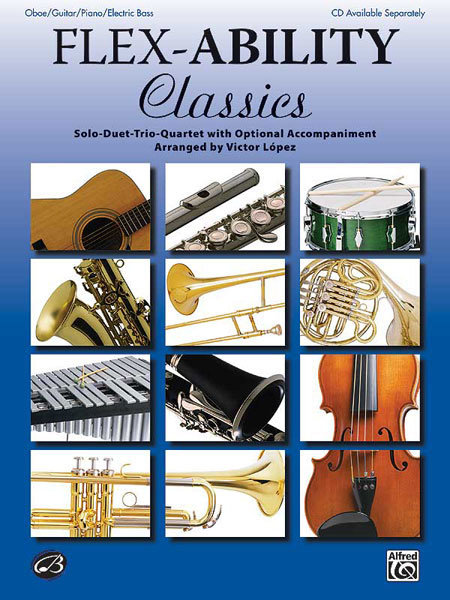 View larger image of Flex Ability Classics - Oboe, Guitar, Piano, Electric Bass