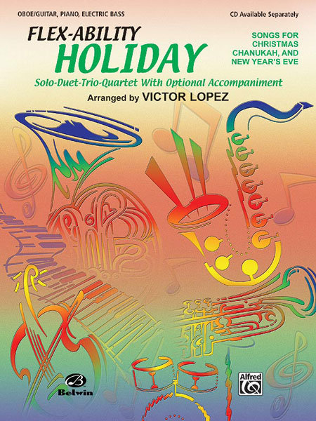 View larger image of Flex Ability Holiday - Oboe/Guitar/Piano/Electric Bass