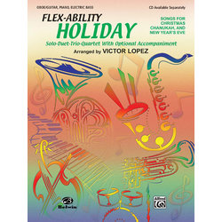 Flex Ability Holiday - Oboe/Guitar/Piano/Electric Bass